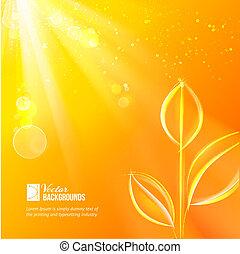 Nature background for summer design