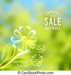 Nature background. - Nature color background. Vector...