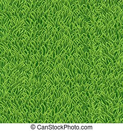 Nature background with green grass. Vector illustration