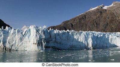 nature, bateau croisière, glacier, paysage, baie, alaska