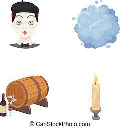 nature, business, ecology and other web icon in cartoon style. fire, lighting, entertainment icons in set collection.