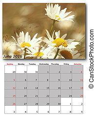 nature calendar june