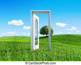 Nature collection - Door to success