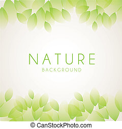 nature design over white background vector illustration