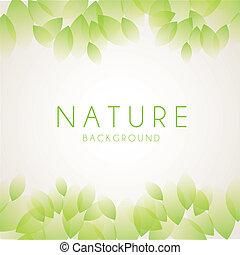 nature design over white background vector illustration
