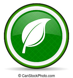 nature green icon leaf sign