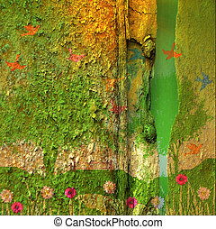 Nature grunge texture