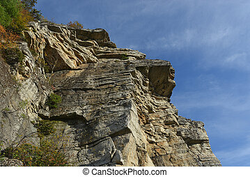 Mohonk Preserve - Nature in autumn in Mohonk Preserve in New...