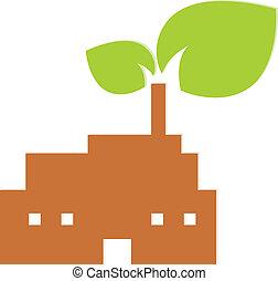 Nature industry symbol illustration