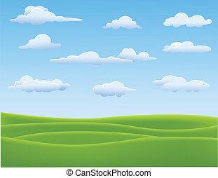 Nature Landscape - Vector illustration of Nature Landscape