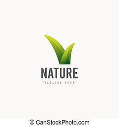 Nature Logo Icon Vector Template Design Illustration