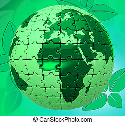 Nature Natural Represents Globally Scenic And Environment -...