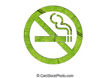 nature no smoking symbol