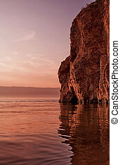 Nature of Olkhon Island. Russia. Siberia.