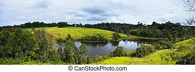 Nature Panorama in Thailand