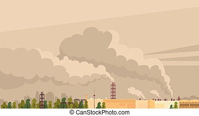Nature Pollution Plant Pipe Air Dirty Smoke Waste