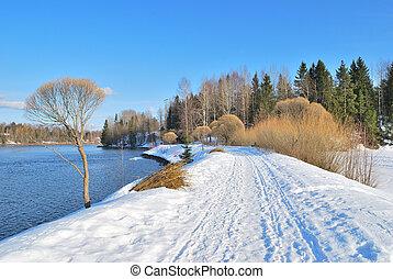 nature, printemps, finlande