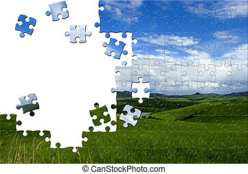 Nature puzzle