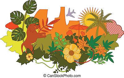 nature scenery background.