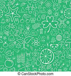 Nature Seamless Wallpaper