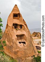 nature stone cave Small hotel Goreme House in Cappadocia, Turkey