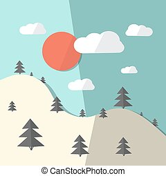 Nature - Vector Landscape