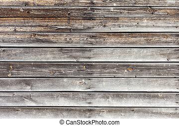 naturel, bois dur, sombre, arrière-plan., mur, bois ...