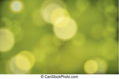 naturel, bokeh, vert, backgro, brouillé