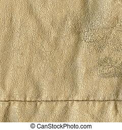 naturel, brun, texture, cuir