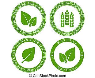 naturel, nourriture, cachet