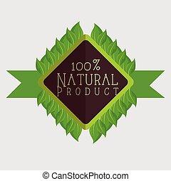 naturel, produit, conception