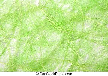 naturel, sisal, fond, vert