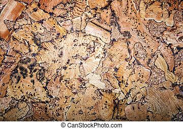 naturel, texture, bouchon, arrière-plan., construction, fond, intérieur
