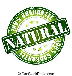 naturel, timbre