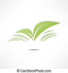 natureza, folha, ícones