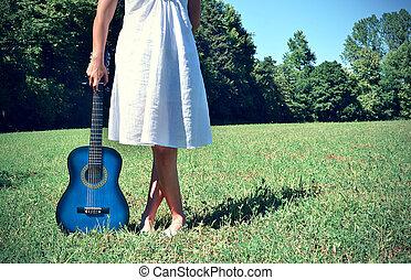 natureza, música