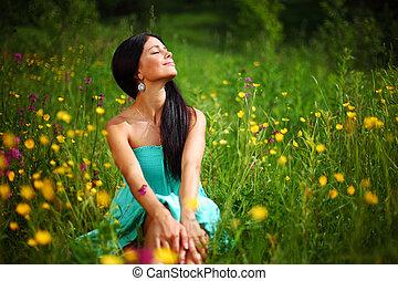 naturlig, frihet