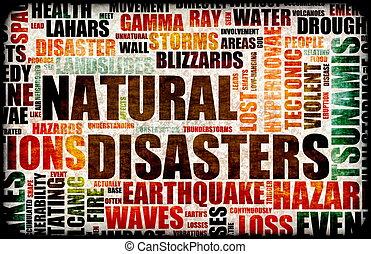 naturlige katastrofer