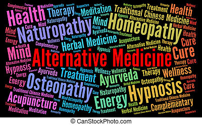 naturmedizin, wort, wolke