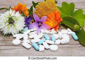 Naturopathy, medicinal herbs