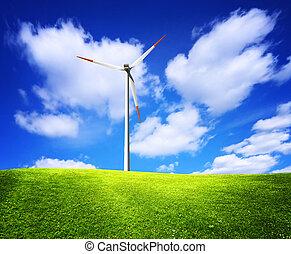 natuur, groen landschap