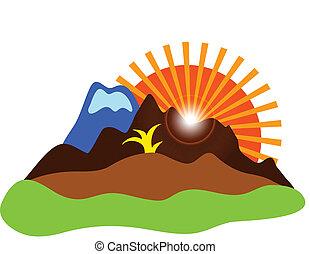 natuur, pictogram