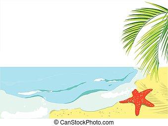 natuur, strand