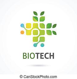 natuurlijke , alternatief, kruidengeneeskunde, pictogram