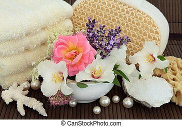 natuurlijke , behandeling, beauty