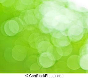 natuurlijke , groene achtergrond, vaag