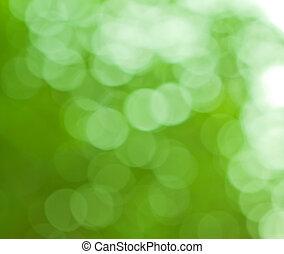 natuurlijke , kleuren, achtergrond, groene, vaag
