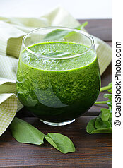 natuurlijke , organisch, smoothie, groene