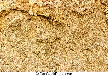 natuurlijke , vast lichaam, sandstone., glad, material., oppervlakte, achtergrond, niet, ruige , behandelde, stone.