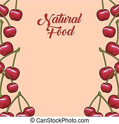 natuurlijke , vruchten, frame